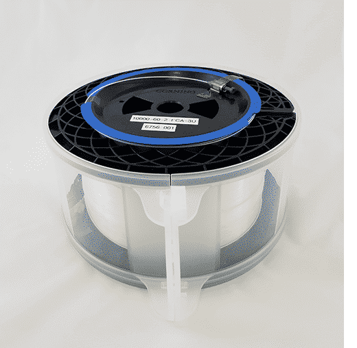 Fiber Delay Line Medium Length Spools (Up to 100 microsec) spool with and without carry case