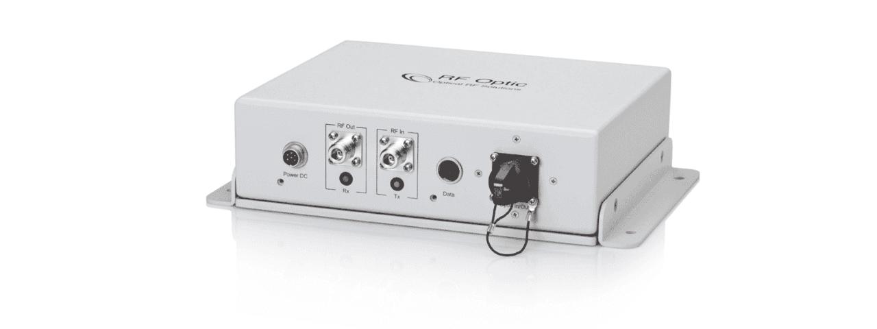 RF Over Fiber Transceiver for Outdoor Applications