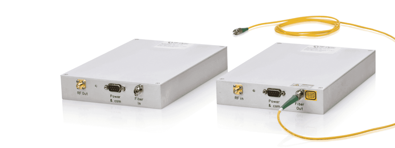 Standalone Mini RF Over Fiber Up to 20 GHz